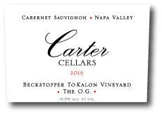 Carter Cellars Beckstoffer To Kalon 'The O.G.' Cabernet Sauvignon Bottle Preview