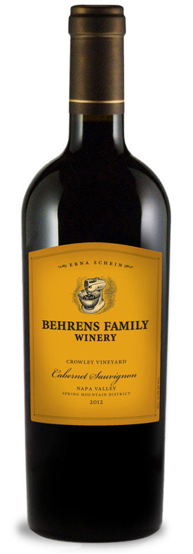 Behrens Family Winery Crowley Vineyard Cabernet Sauvignon Bottle Preview