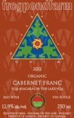 Frogpond Farm Organic Winery Cabernet Franc