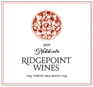 Ridgepoint Wines Nebbiolo