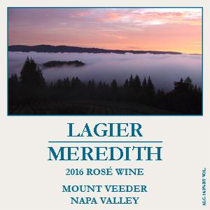 Lagier Meredith Vineyard Rosé Bottle Preview