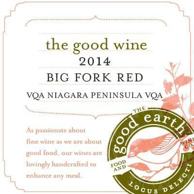 The Good Earth Vineyard and Winery Big Fork Red