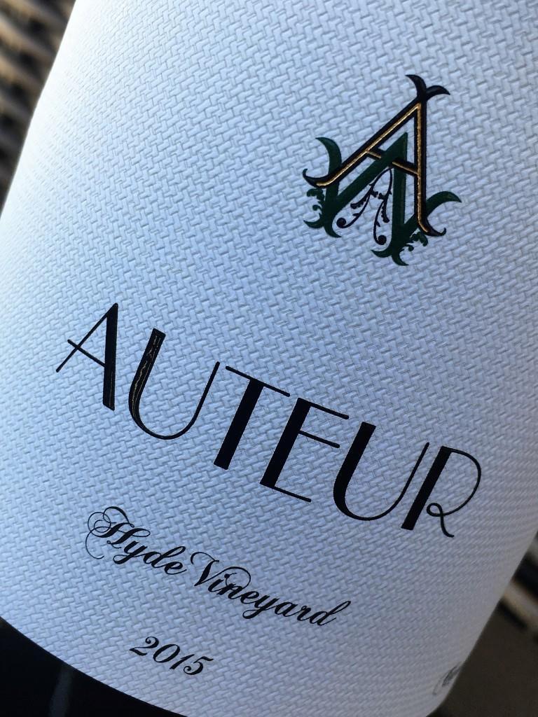 Auteur Hyde Chardonnay Bottle Preview