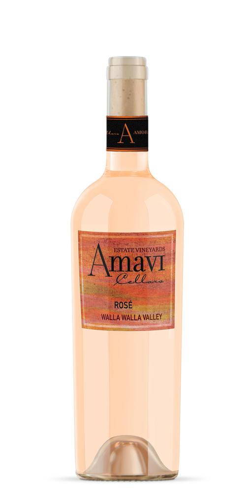 Amavi Cellars Cabernet Franc Rosé Bottle Preview