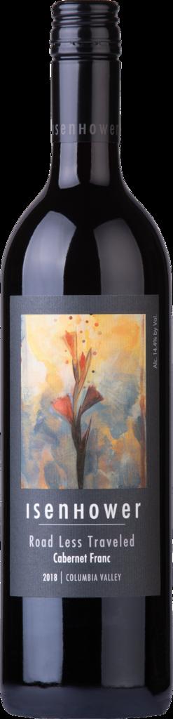 Isenhower Cellars Road Less Traveled Cabernet Franc Bottle Preview
