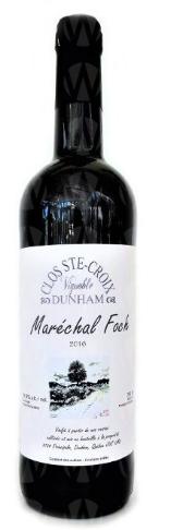 Clos Ste-Croix-Dunham Maréchal Foch