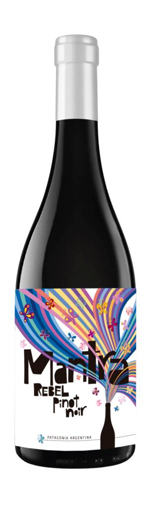 Secreto Patagónico Mantra Rebel Pinot Bottle Preview