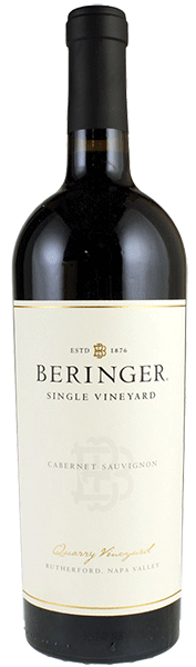 Beringer Vineyards Beringer Quarry Vineyards Cabernet Sauvignon Bottle Preview