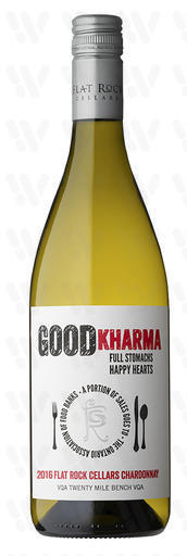 Flat Rock Cellars Good Kharma Chardonnay