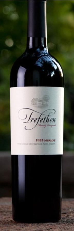 Trefethen Family Vineyards FHB Merlot Bottle Preview