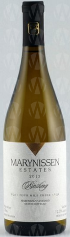 Marynissen Estates Winery Riesling