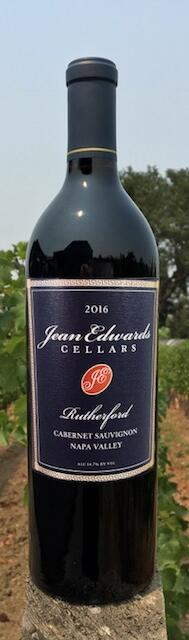 Jean Edwards Cellars Rutherford Cabernet Sauvignon Bottle Preview