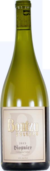 Bontzu Cellars Viognier Bottle Preview