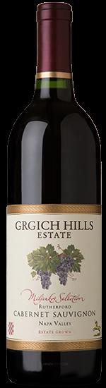 Grgich Hills Estate Miljenko's Selection Cabernet Sauvignon Bottle Preview