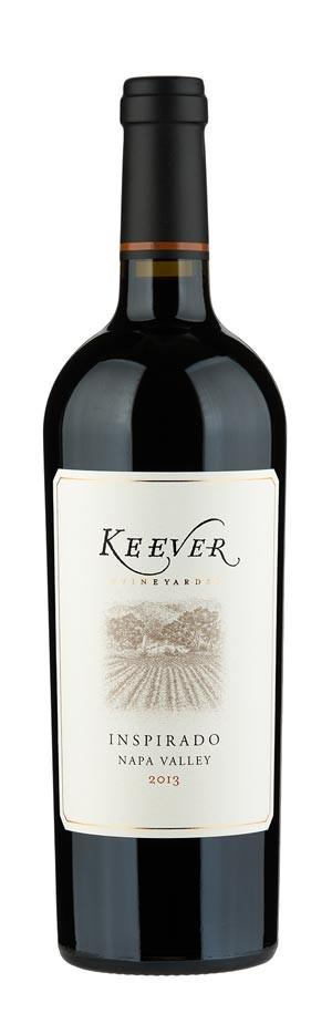 Keever Vineyards Inspirado Bottle Preview