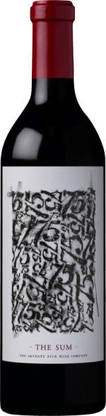 """Tuck Beckstoffer Wines Seventy Five Wine Company """"The Sum"""" Bottle Preview"""