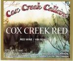 Cox Creek Cellars Inc. Cox Creek Red