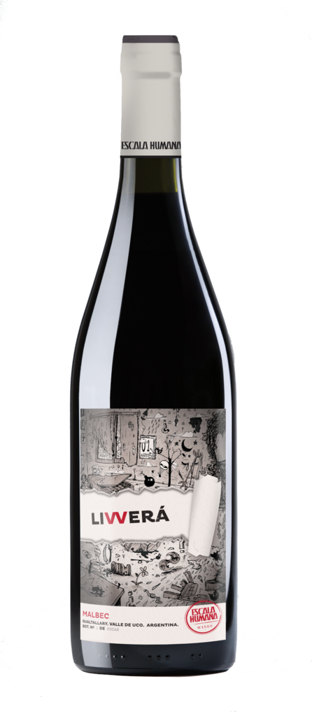 Escala Humana Wines LIVVERÁ Malbec Bottle Preview