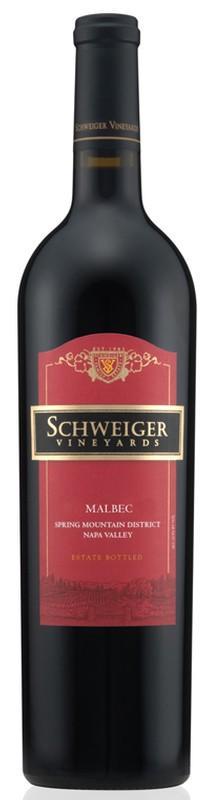 Schweiger Vineyards Malbec Bottle Preview
