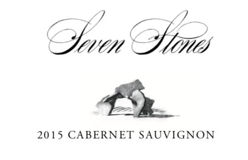 Seven Stones Winery Cabernet Sauvignon Bottle Preview