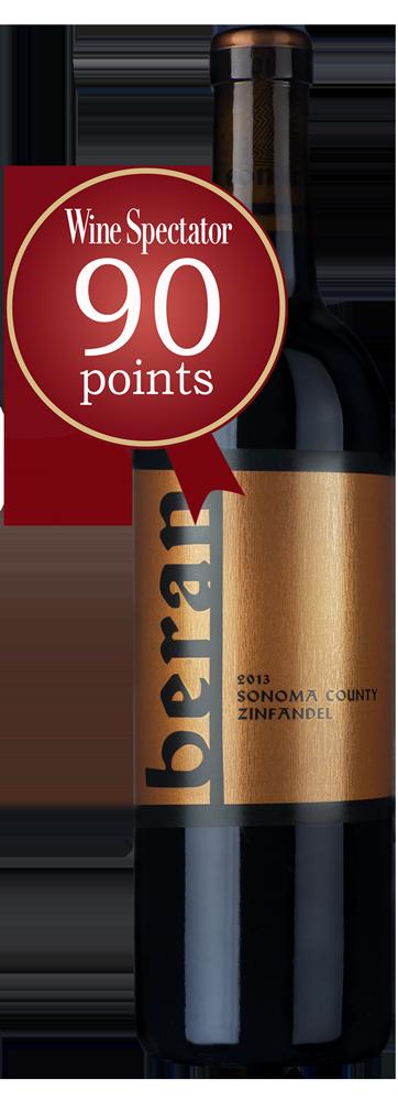Beran Sonoma County Zinfandel Bottle Preview