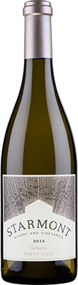 Starmont Winery & Vineyards Pinot Gris Bottle Preview