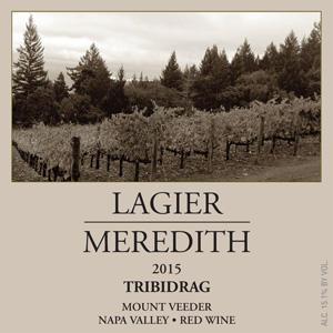 Lagier Meredith Vineyard Tribidrag (AKA Zinfandel) Bottle Preview