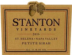 Stanton Vineyards Petite Sirah Bottle Preview