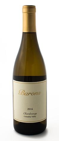 Barons Winery Chardonnay Columbia Valley Bottle Preview