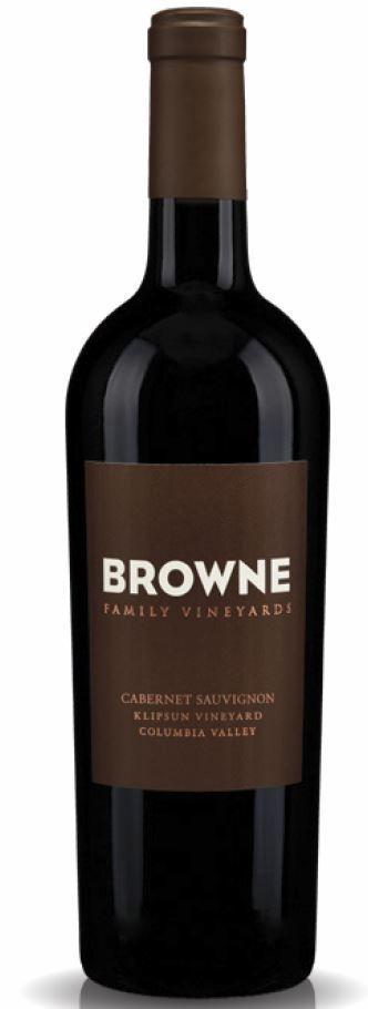 Browne Family Vineyards Klipsun Cabernet Sauvignon Bottle Preview