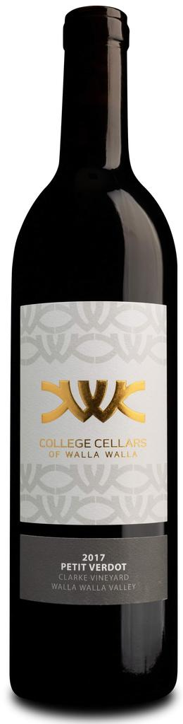 College Cellars of Walla Walla Petit Verdot Bottle Preview