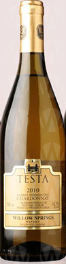Willow Springs Winery Testa Chardonnay