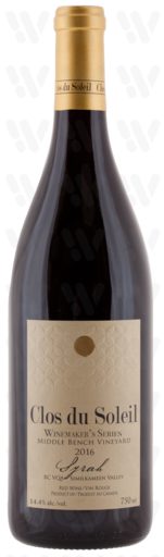Winemaker's Series Winemaker's Middle Bench Syrah
