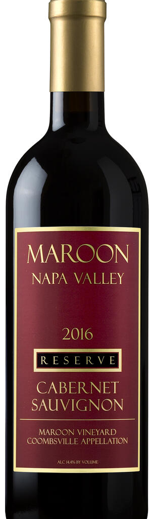 Maroon Wines Coombsville Reserve Cabernet Sauvignon Bottle Preview