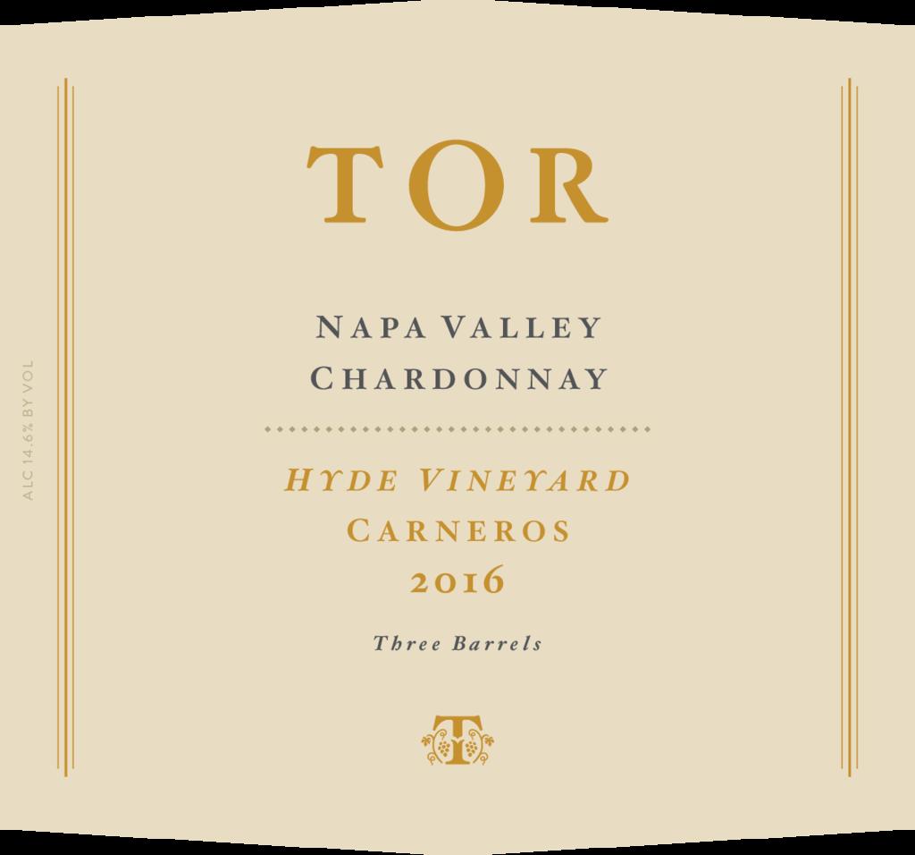 TOR Wines Hyde Vineyard Chardonnay Bottle Preview