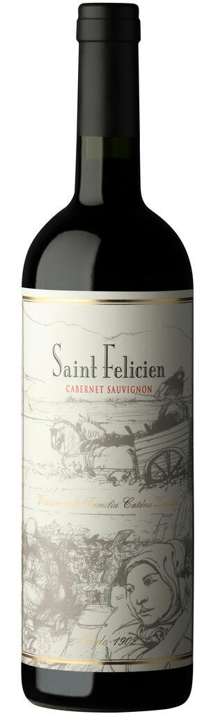 Saint Felicien Cabernet Sauvignon Bottle