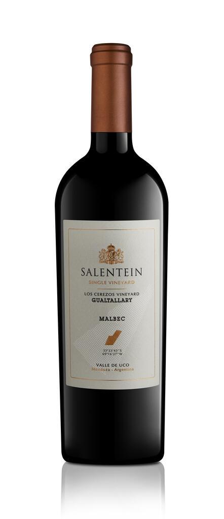 Salentein Single Vineyard Los Cerezos Gualtallary Bottle