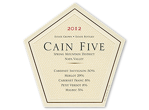 Cain Vineyard & Winery Cain Five Bottle Preview