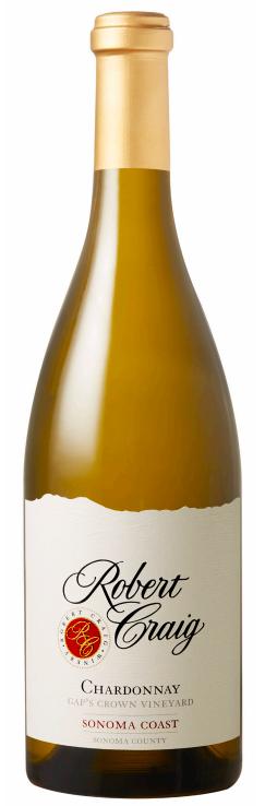 Robert Craig Winery Gap's Crown Vineyard Chardonnay Bottle Preview