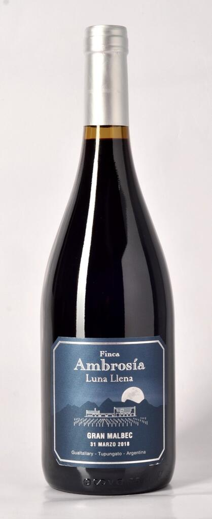 Luna Llena Gran Malbec Bottle