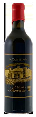 Castello di Amorosa LA CASTELLANA, Super Tuscan Blend Bottle Preview