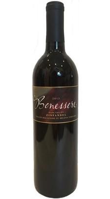 Benessere  Vineyards Collins Holystone Old Vine Zinfandel Bottle Preview