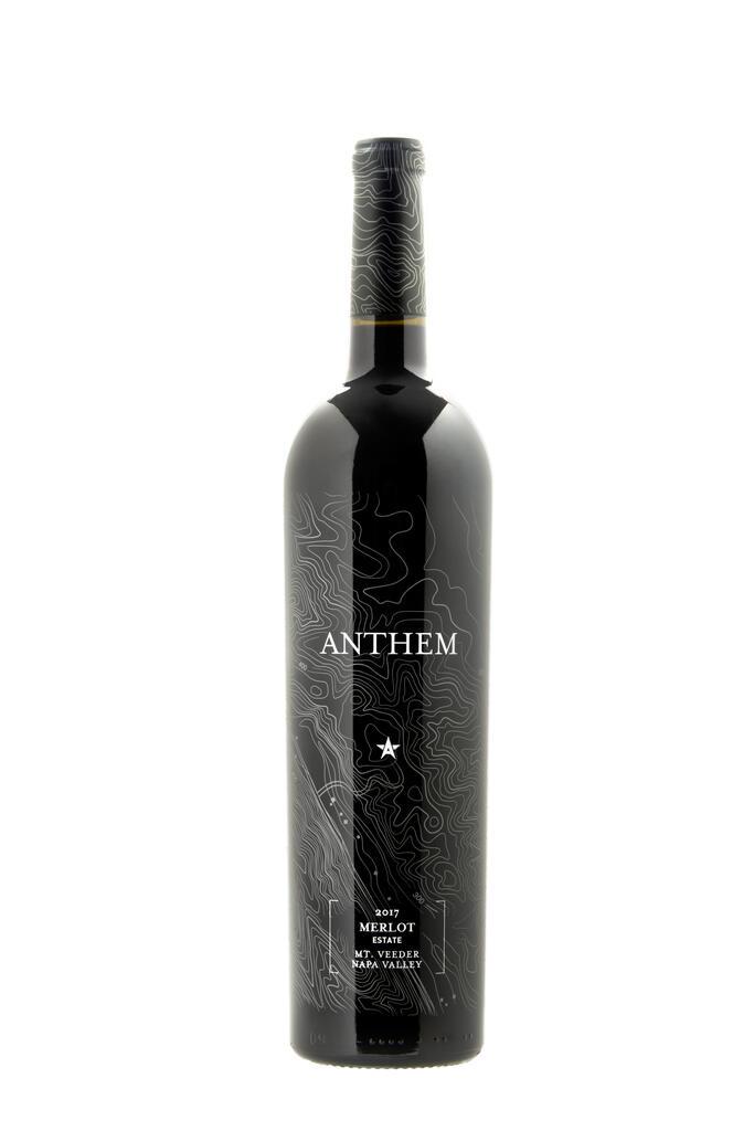 Anthem Winery Merlot Estate Vineyard Mt. Veeder Napa Valley Bottle Preview