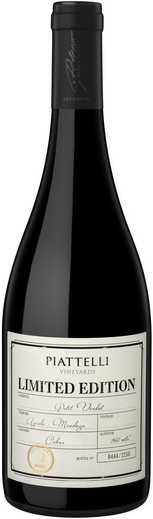 Piattelli Vineyards - Mendoza Limited Edition Petit Verdot Bottle Preview