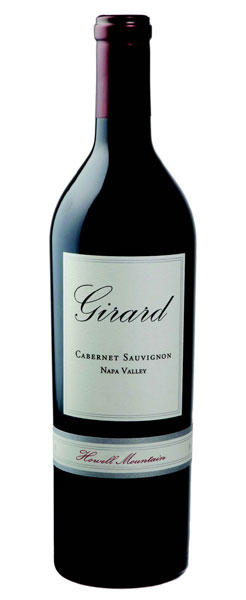 Girard Winery Cabernet Sauvignon Howell Mountain, Napa Valley Bottle Preview