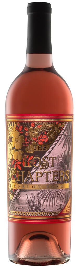 J. McClelland Cellars The Lost Chapters 2019 Napa Valley Merlot Rosé Bottle Preview
