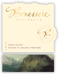 Benessere  Vineyards Moscato di Canelli Bottle Preview