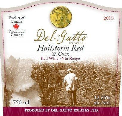 Del-Gatto Estates Hailstorm Red