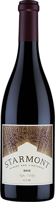 Starmont Winery & Vineyards GSM Bottle Preview