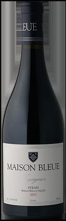 Maison Bleue Voyageur Syrah Bottle Preview